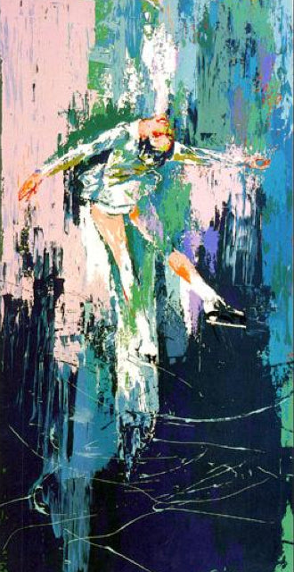 """Peggy Fleming"" LeRoy Neiman"