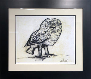 """The Owl""  Pablo Picasso"