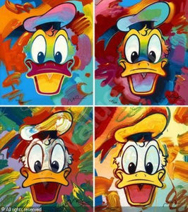 """Disney: Donald Duck Suite"" Peter Max"