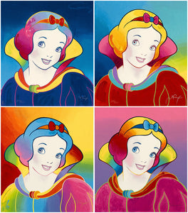 """Disney: Snow White Suite"" Peter Max"