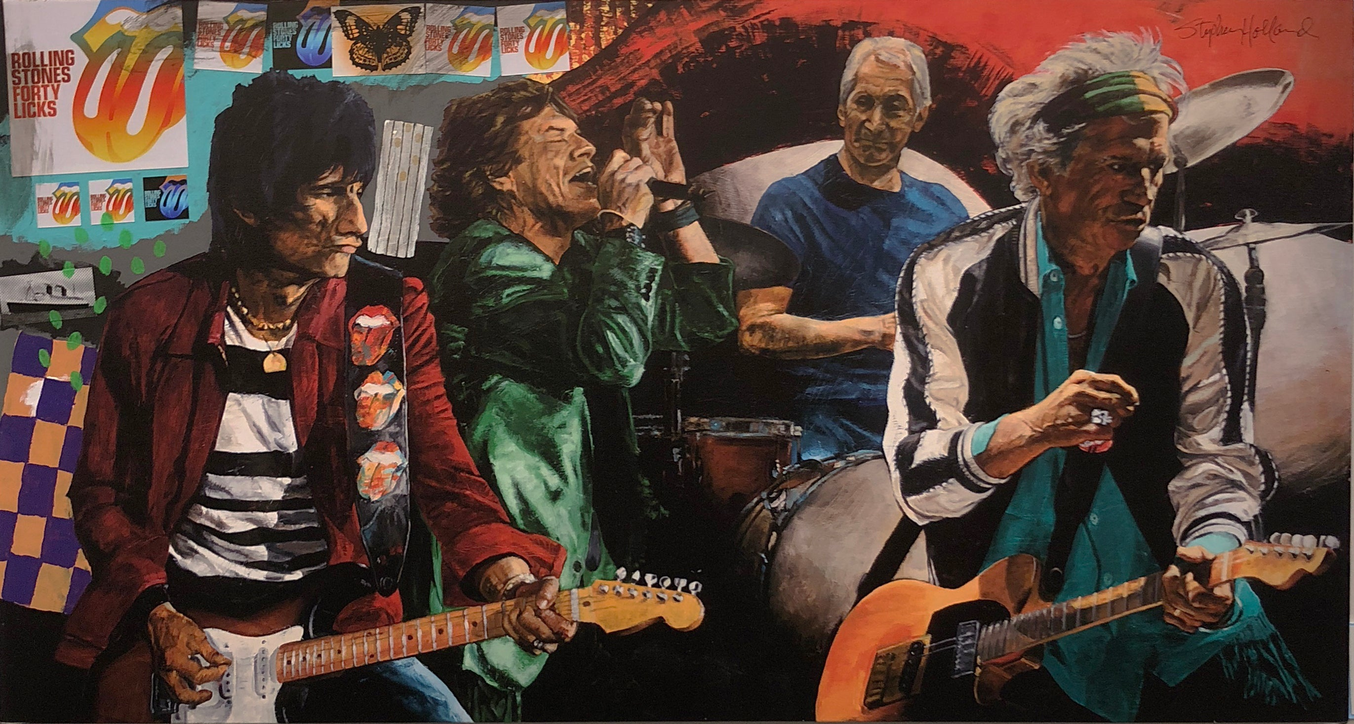 """The Rolling Stones"" Stephen Holland"