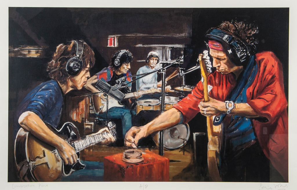 """Conversation Piece"" Ronnie Wood"