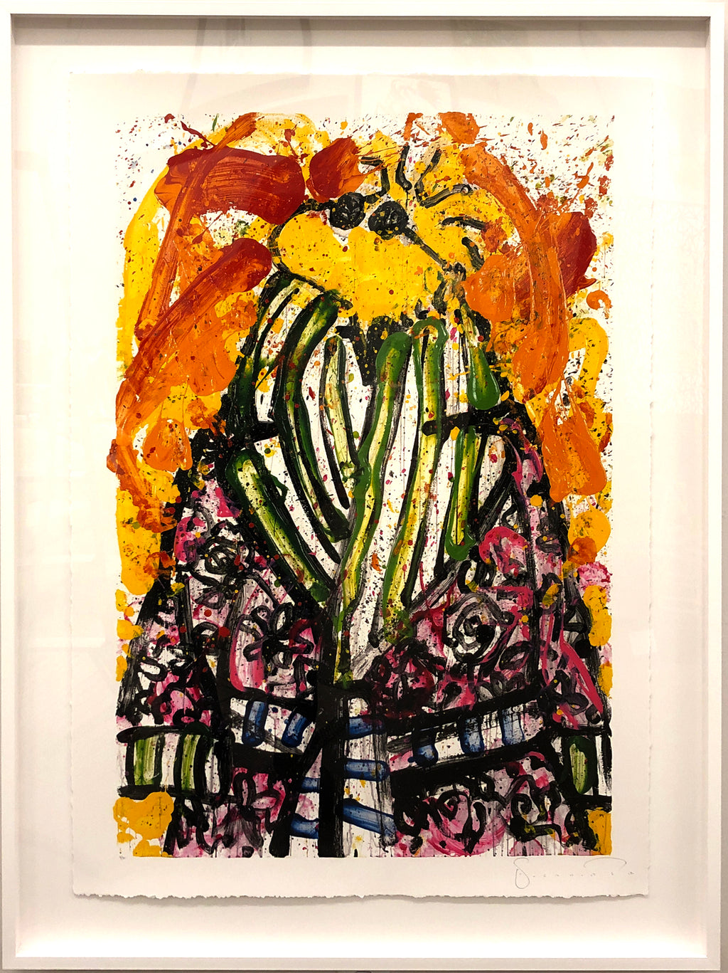"""Shorty Wearing Jim Dine"" Thomas Everhart"