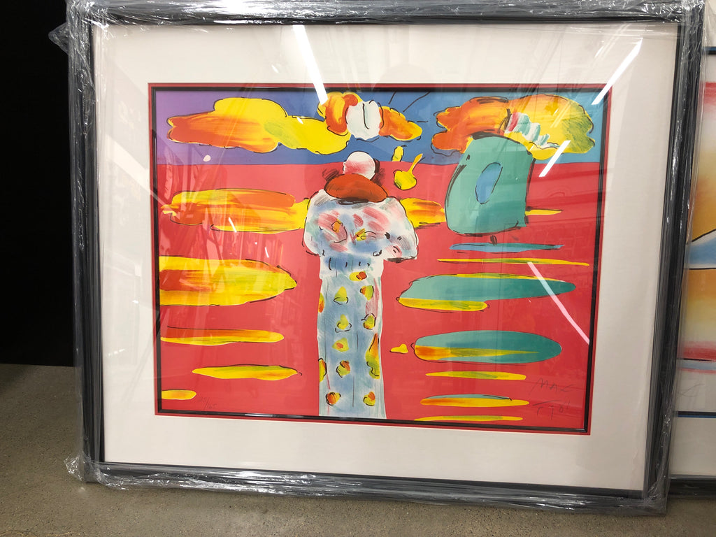 """Monk at the Red Sea"" by Peter Max"