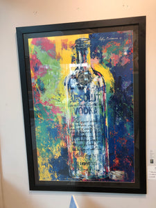"""Absolut"" By LeRoy Neiman"