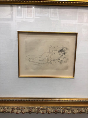 """Femme Nue Couchee"" by Renoir"