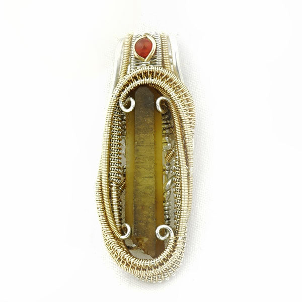 details crystal pendant for carnelian jewellery image sale