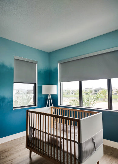 Blackout shades for kid and nursery rooms