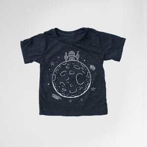 Robot House On The Moon Tee