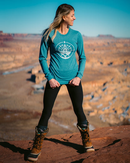 The Classic Long Sleeve | Teal