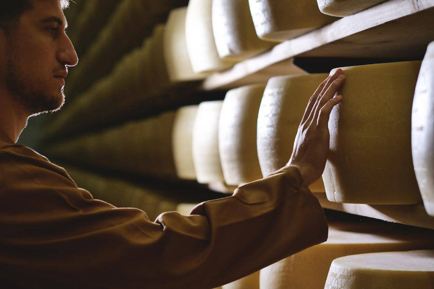 Cheese Makers Traveling Through Italy