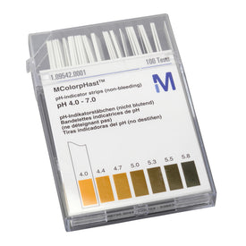 pH Indicator Strips 4.0-7.0