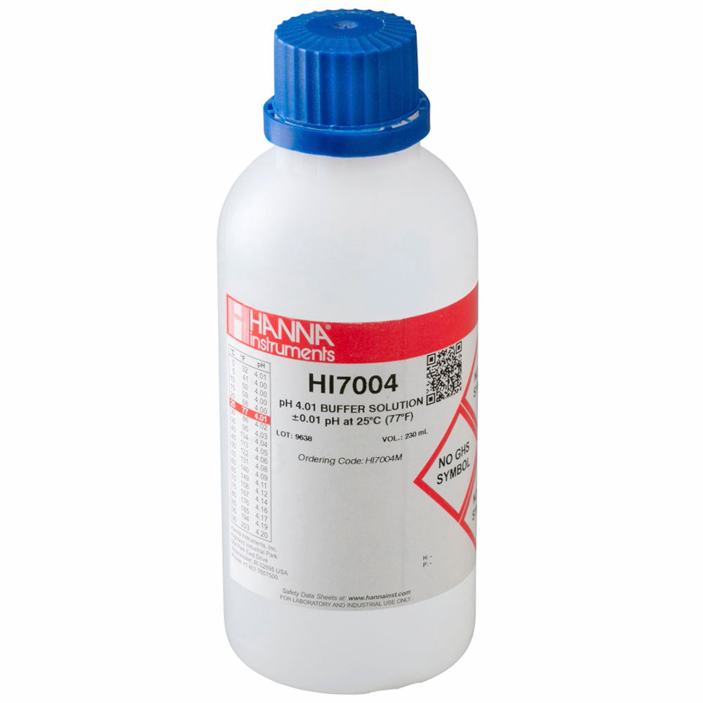 4.01 pH Buffer Solution for pH Meters