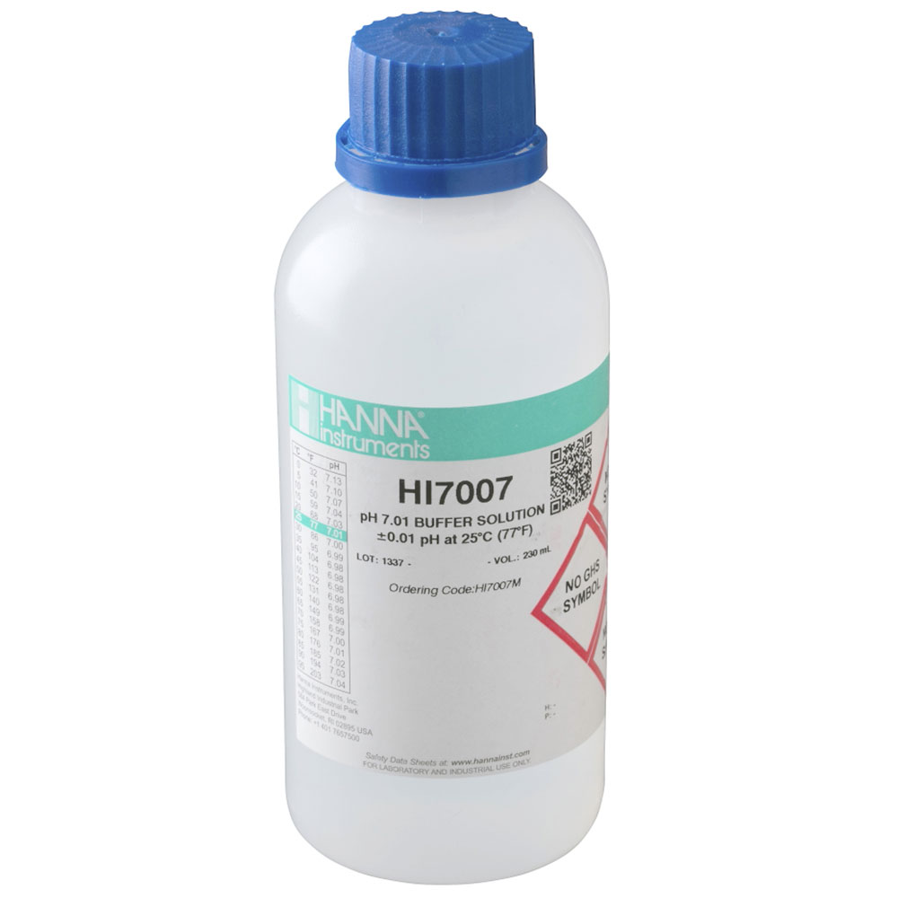 7.01 pH Buffer Solution for pH Meters
