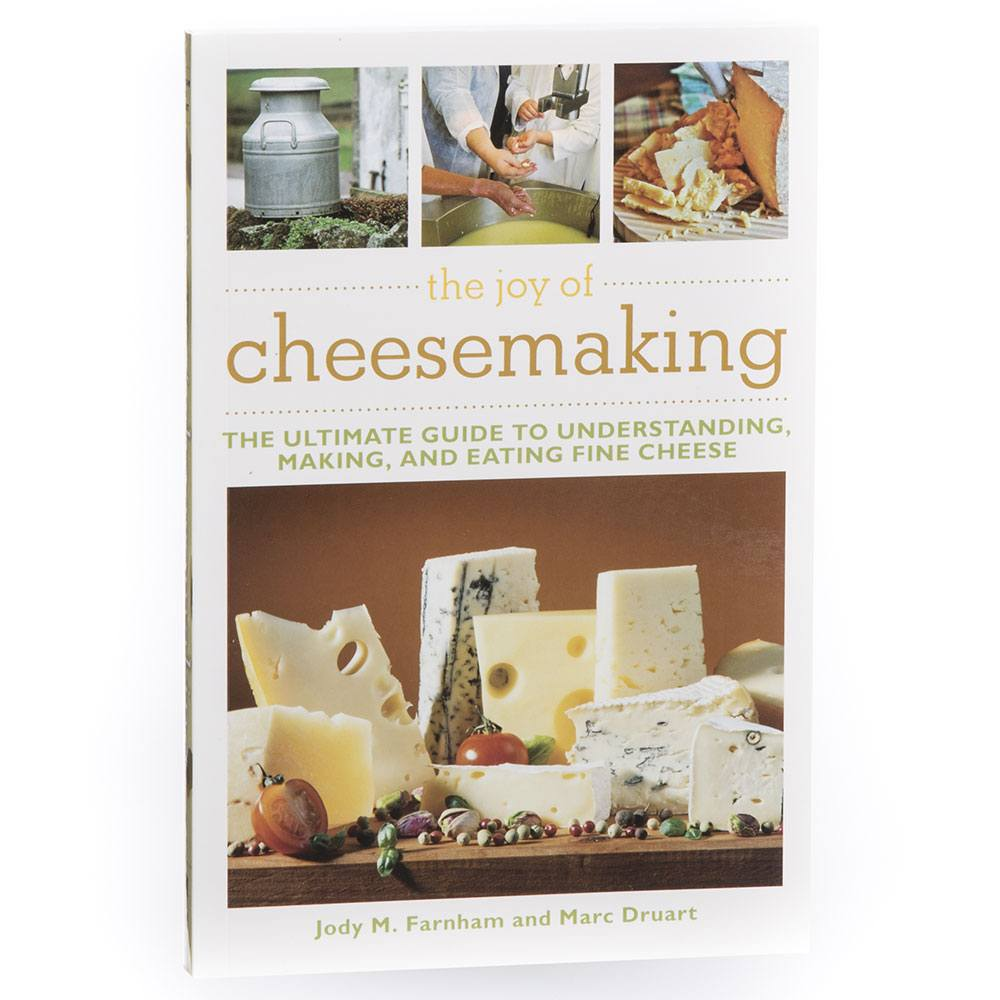 the joy of cheesemaking by jody farnham and marc druart how to rh cheesemaking com Wisconsin Cheese Guide Cheese in a Can