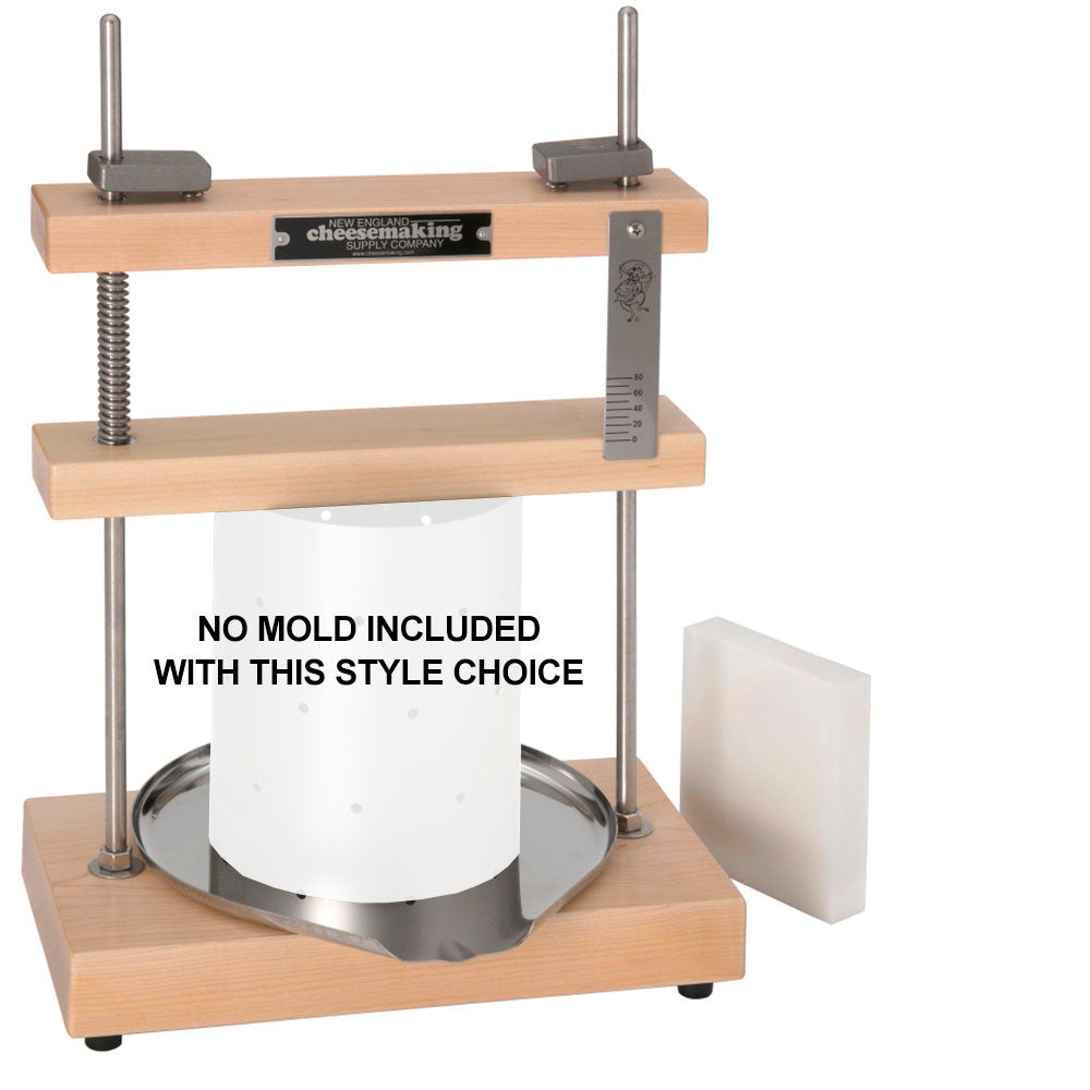 Cheese Press - with 3 FREE Cultures