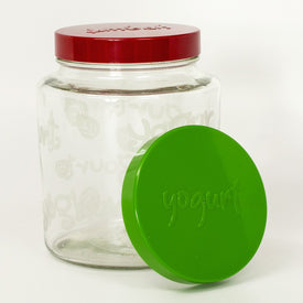 2 Quart Glass Jar for Making Yogurt