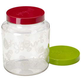2 Quart Glass Yogurt Jar