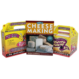 Complete Home Cheese Making Set (B1, K1 & K2)