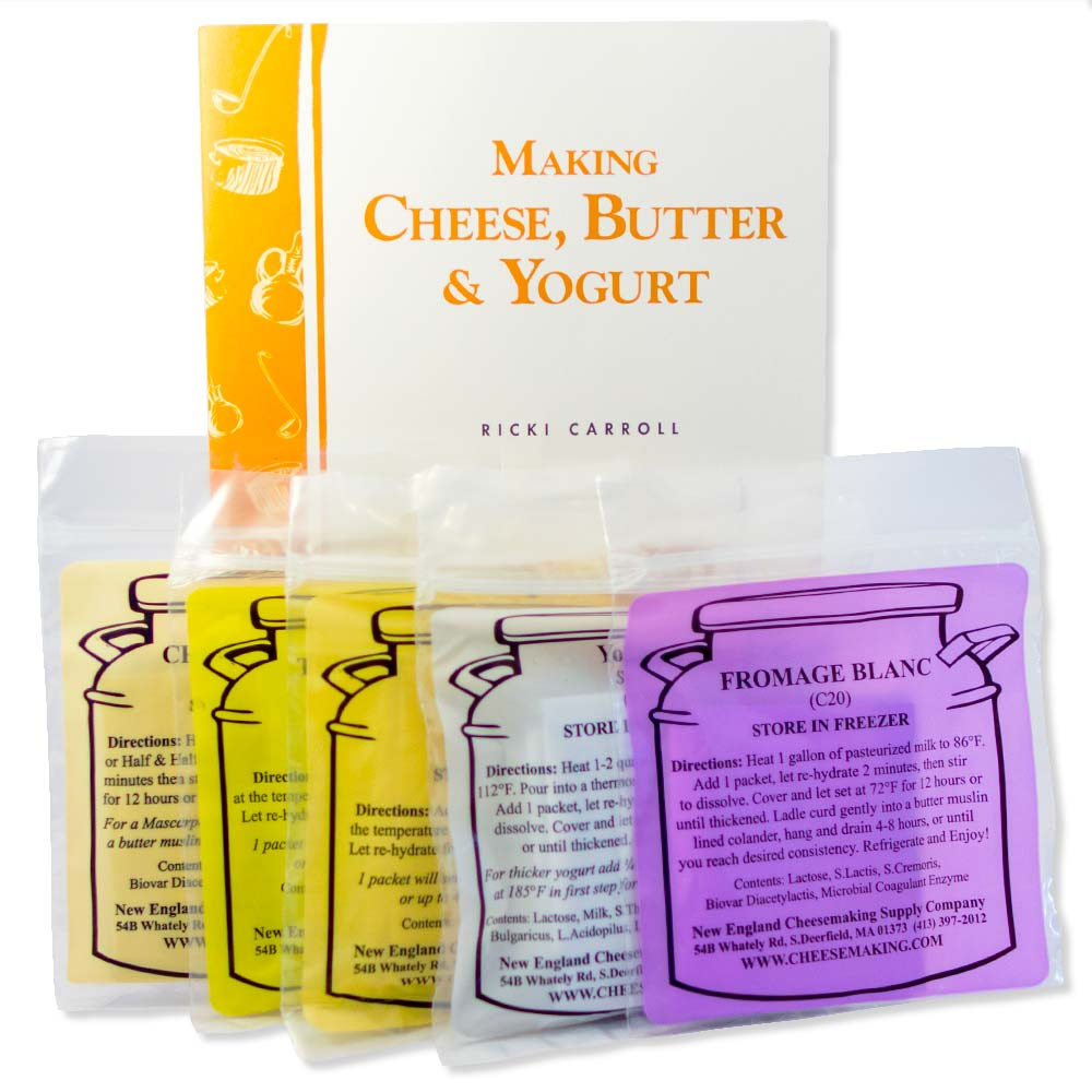 Making Cheese, Butter & Yogurt Kit (B70, C20, C33, C101, C201, Y5)