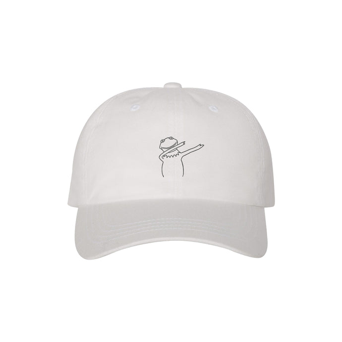 SavageRealm Dad Hat White