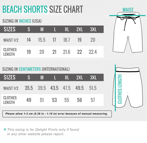 Image of Alpha Wolf - v1 Beach Shorts