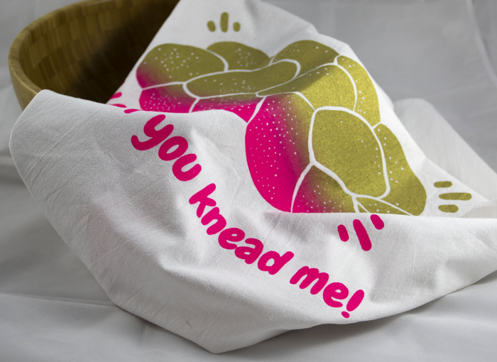 Challah If You Knead Me Tea Towel