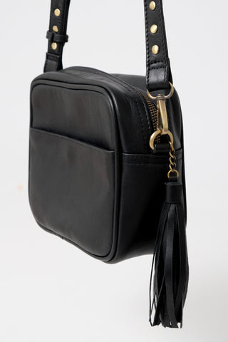 The Mabel Bag - Black Leather