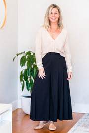 East Wide Leg Pants - Black
