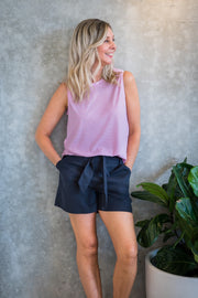 Tyler Short - Indy Grey | Mabel and Woods | Women's Fashion