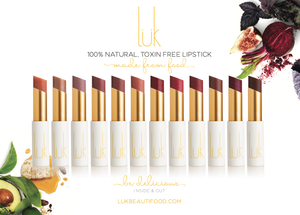 Luk Beautifood Lipstick - 12 Colours