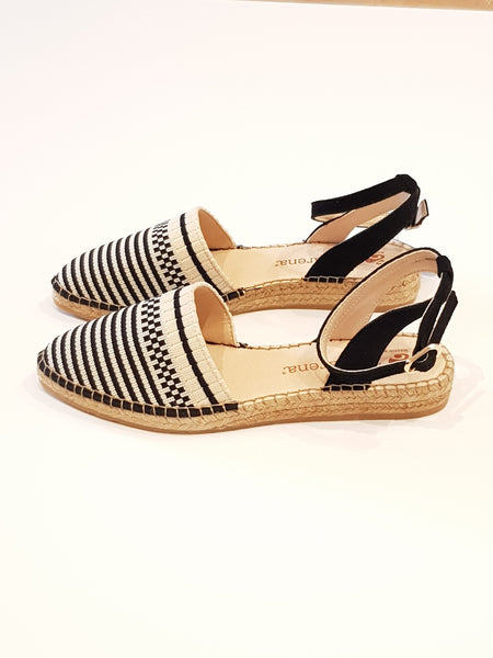 Macarena Pointed Knit Espadrilles