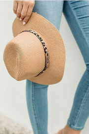 Joplin Straw Hat - Tan
