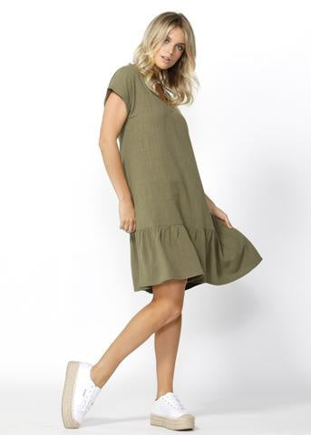 Ryland Dress (khaki)
