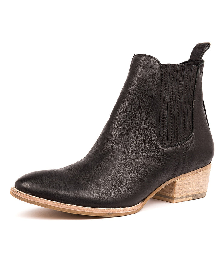 Leatty Boot - Black Leather | Mabel and Woods | Women's Fashion
