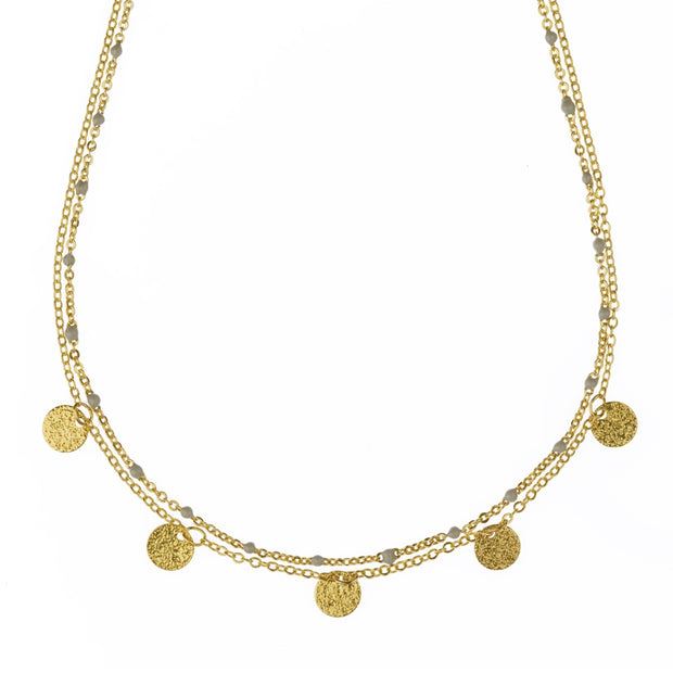 Phoebe Necklace - Gold