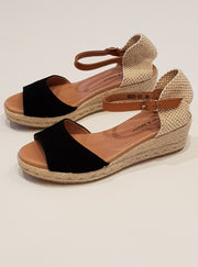 Suzy Espadrille - Black | Mabel and Woods | Women's Fashion