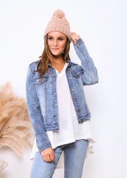 Alex Denim Jacket | Mabel and Woods | Women's Fashion