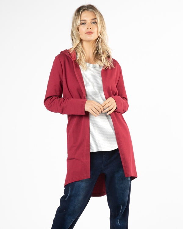 Jaden Hoodie - Wildberry | Mabel and Woods | Women's Fashion