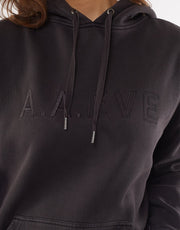 A.A.E.  Be Bold Hoodie - Washed Black