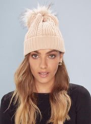 Bondi Beanie - Cream | Mabel and Woods | Women's Fashion