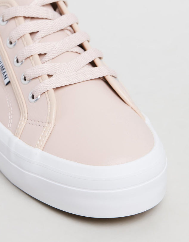 Cass Sneakers - blush pink leather | Mabel and Woods | Women's Fashion