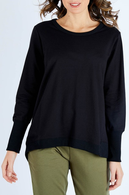 Dolly Sweater - Black | Mabel and Woods | Women's Fashion