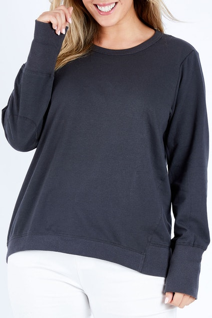 Dolly Sweater - Gunmetal | Mabel and Woods | Women's Fashion