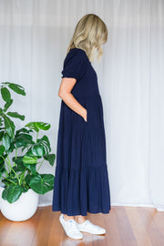 Amyra Dress - Navy
