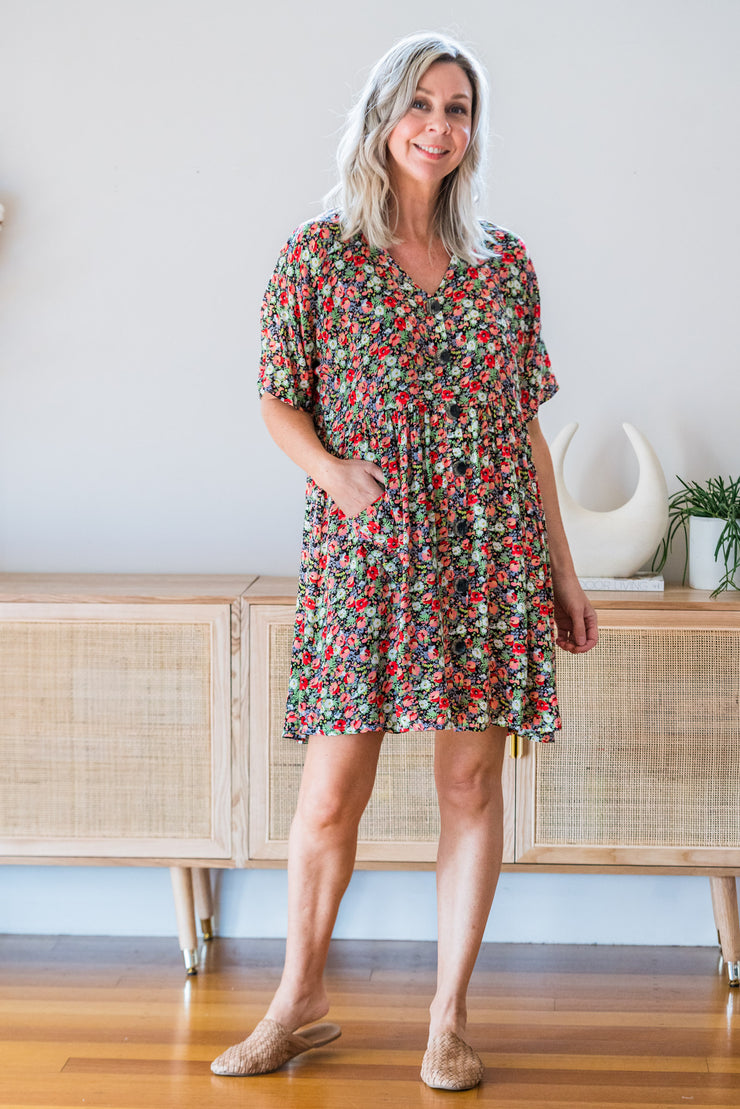 Hero Tunic Dress - Selma Floral