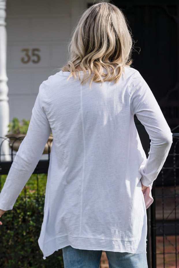 Willow Longsleeved Top - White
