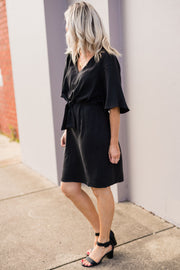 Must Have Tie Front Dress | Mabel and Woods | Women's Fashion
