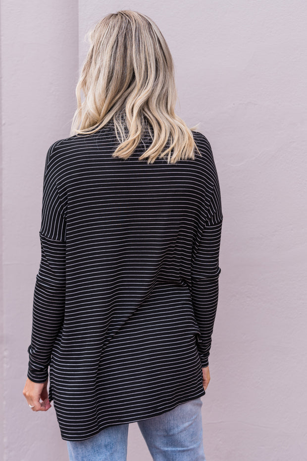 Essential Skivvy - Black Stripe