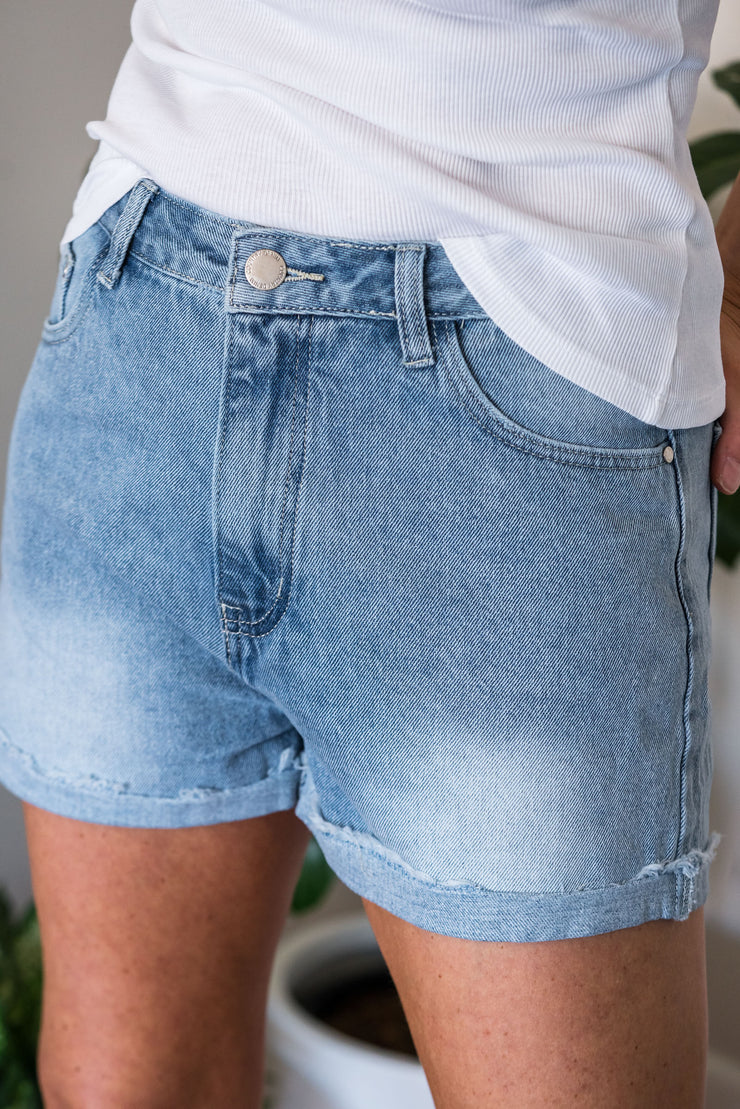 Hemsworth Denim Shorts